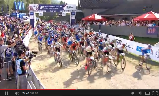 The best moments from the 2014 UCI MTB & Trials World ...