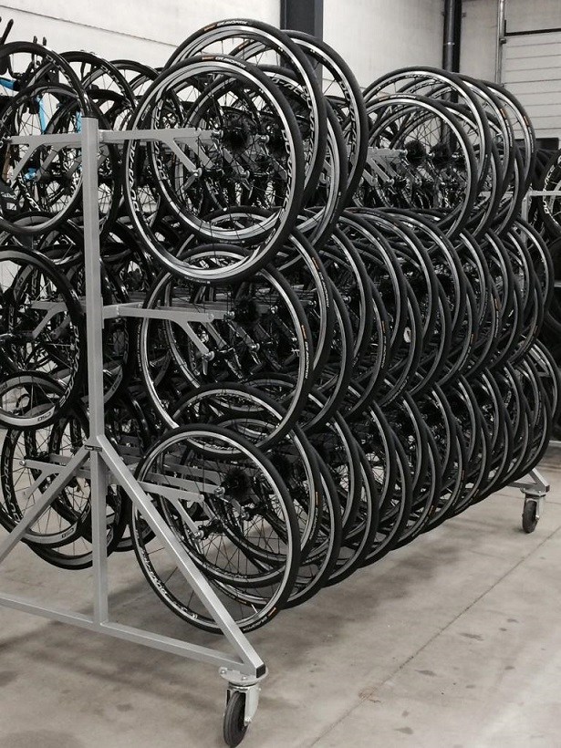 Training wheels ready