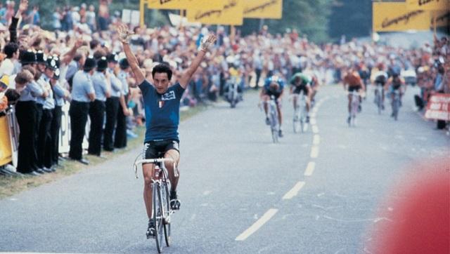 Saronni wins ahead of LeMond and Kelly