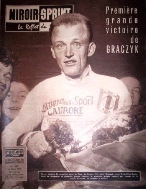 Jean Graczyk after taking overall victory in Rome