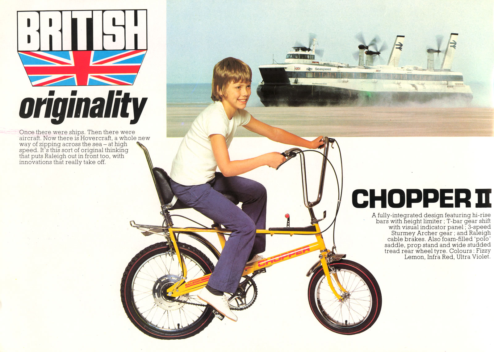 70's & 80's Kids – The Raleigh Chopper | The Bike Comes First
