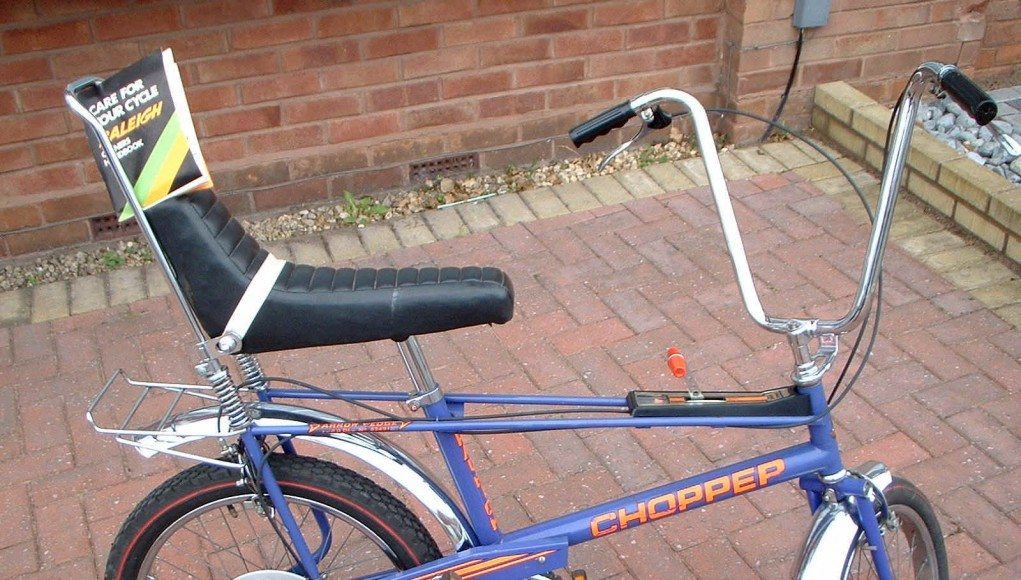 70 S 80 S Kids The Raleigh Chopper The Bike Comes First