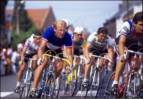 Fignon had gone into the Tour as French champion. (Photo: Patricio Saldivia Saldivia Noack)