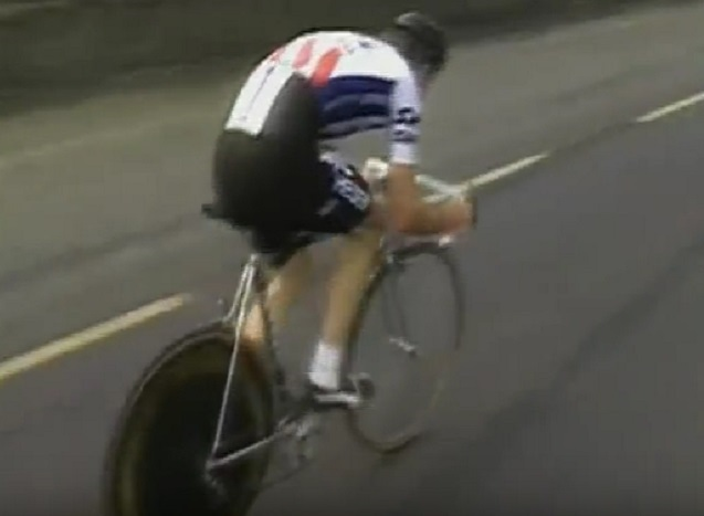 Sean Kelly put in an incredible ride in the time trial