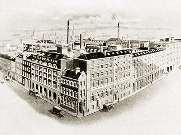 The Jacob's biscuit factory where Michael Walker and his brother John were stationed