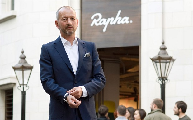 Simon Mottram Founder and Chief Executive of Rapha