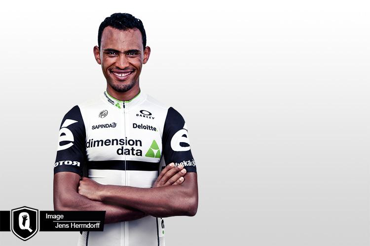 Mekseb Debesay Eritrean rider gets hopelessly lost at E3 Harelbeke until a local