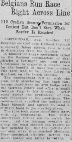 Sacramento Union, 9 August 1915