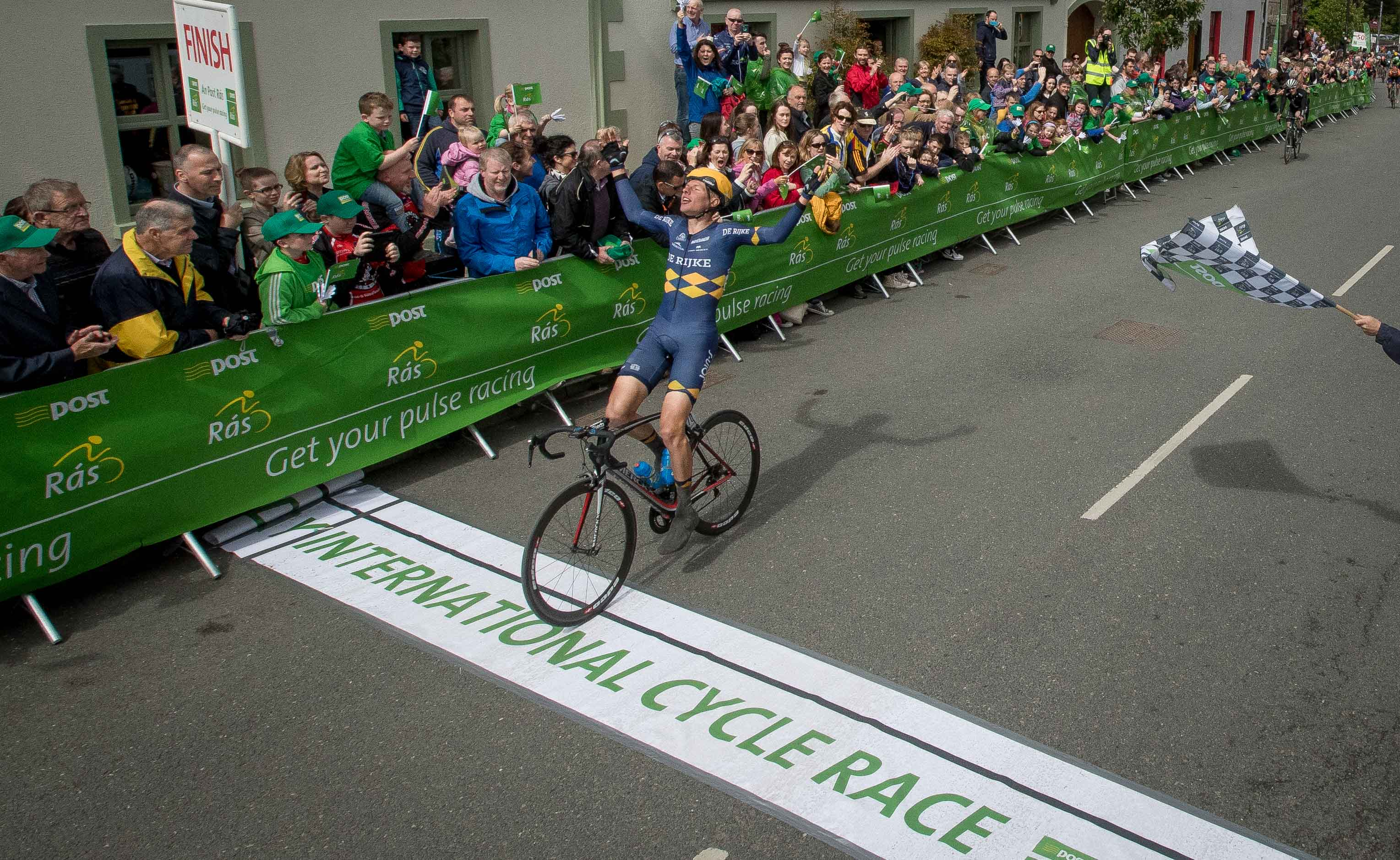 Dutchman Taco van der Hoorn Solos to Opening Stage Victory of 2016 An Post  Rás 63440a26c