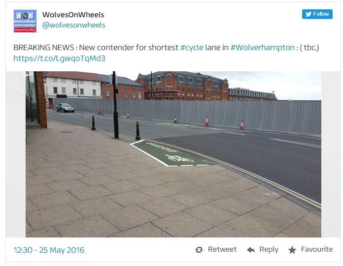 Wolverhampton Cycle Path II