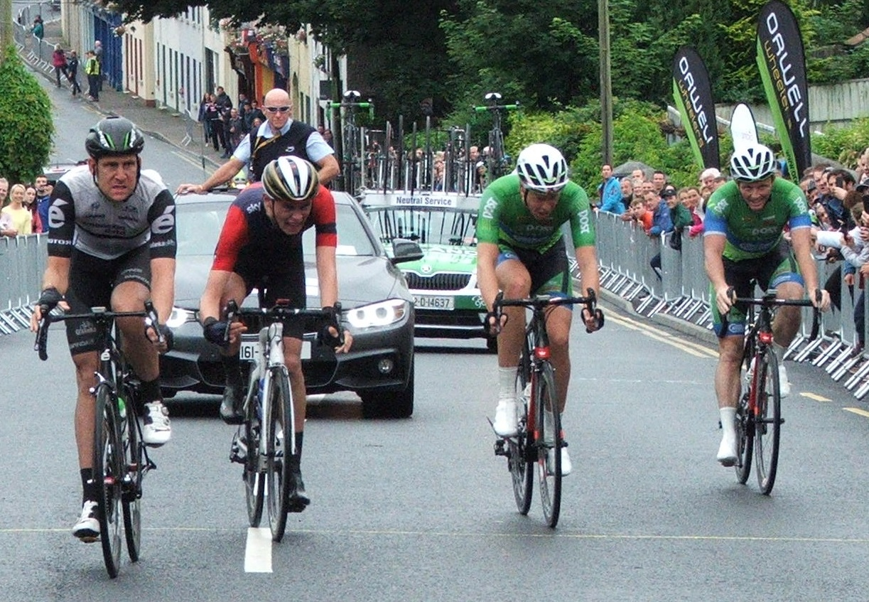 Shaw finishing in 5th place at the 2016 Irish National Championships (Photo: Graham Healy)