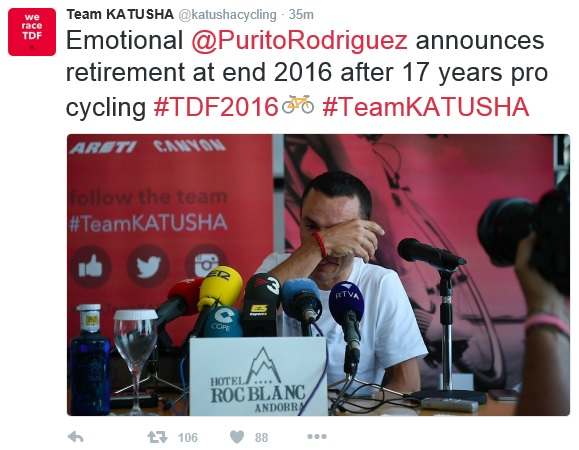 Purito retirement