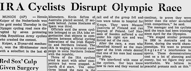 1972 Olympics Article