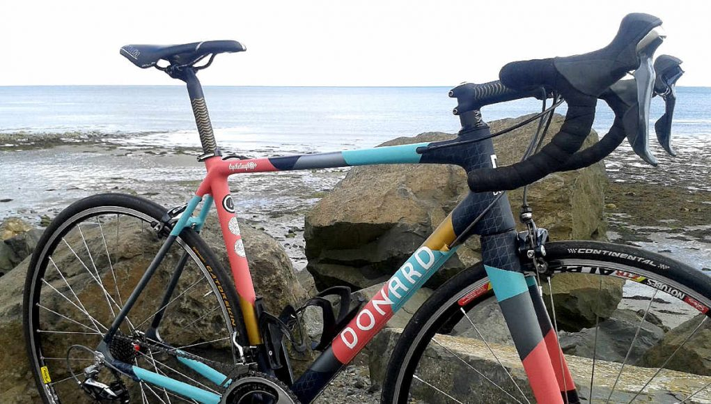Bespoke hand-painted bike created for Lap the Lough sportive | The ...