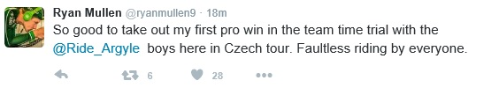 Ryan Mullen Czech tweet