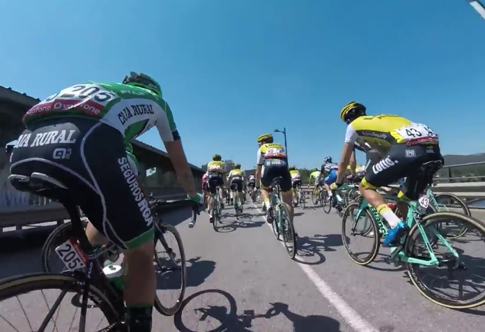 Onboard highlights from Stage 3 of the Vuelta a España ...
