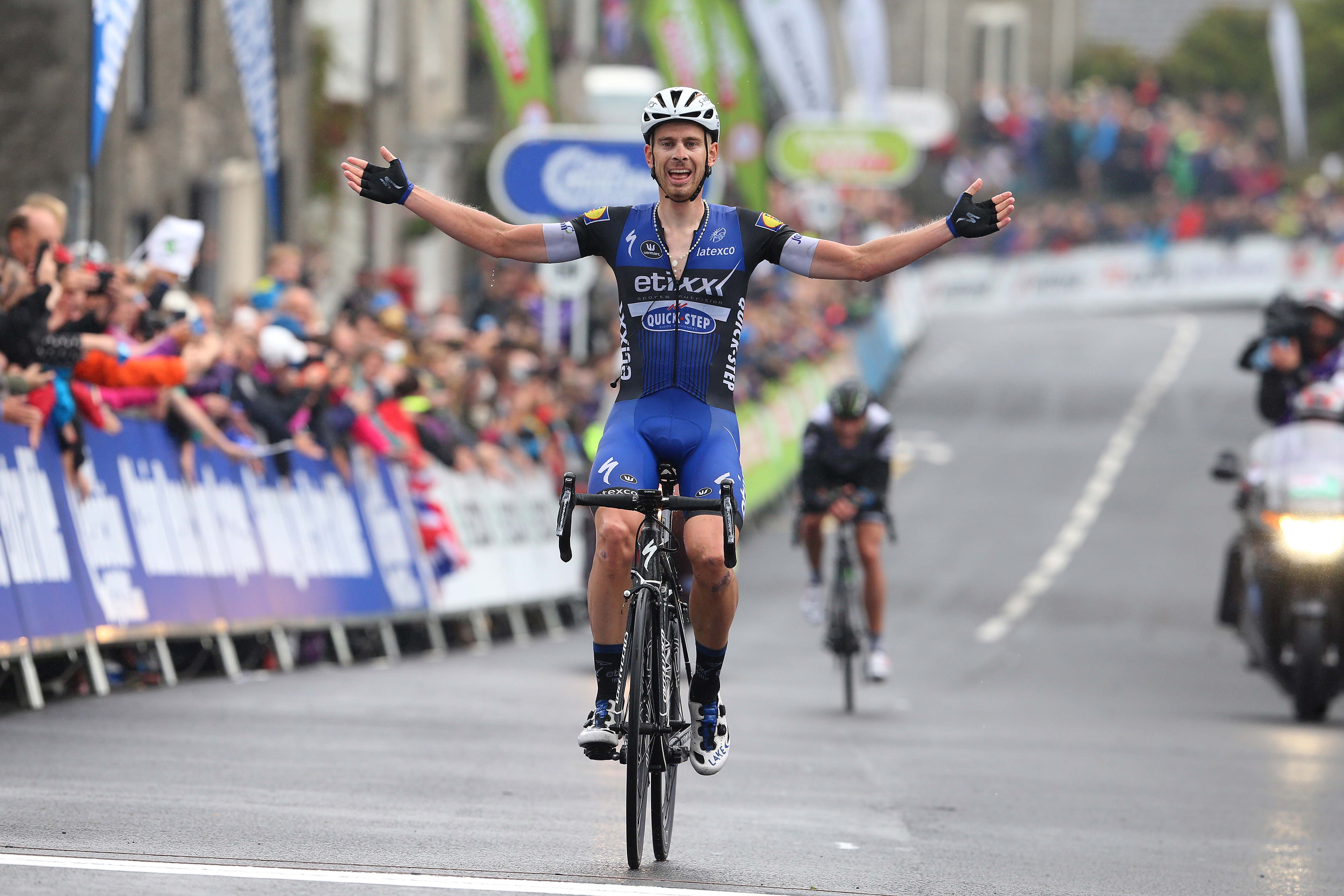 Julien Vermote solos to victory in Tour of Britain and ...