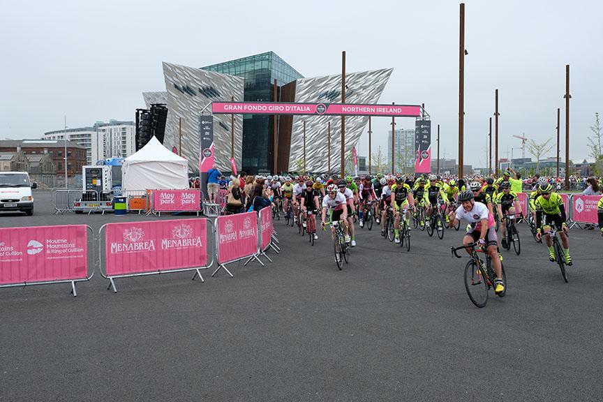 Photo: Gran Fondo Giro d'Italia NI