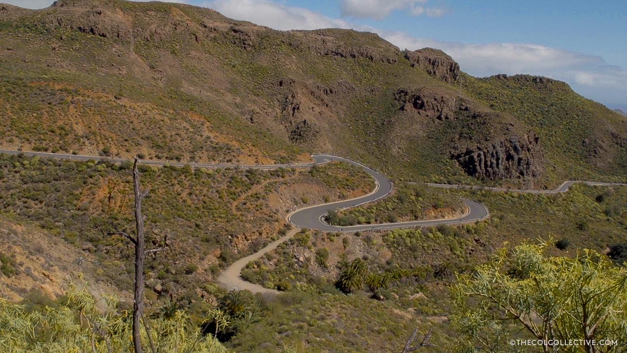 Pico de las Nieves - GC60 Gran Canaria Silk road and switchbacks
