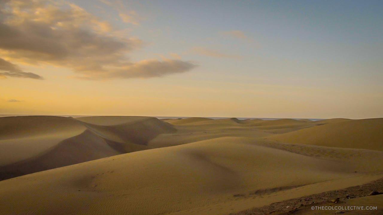 Pico de las Nieves - Sand Dunes Gran Canaria