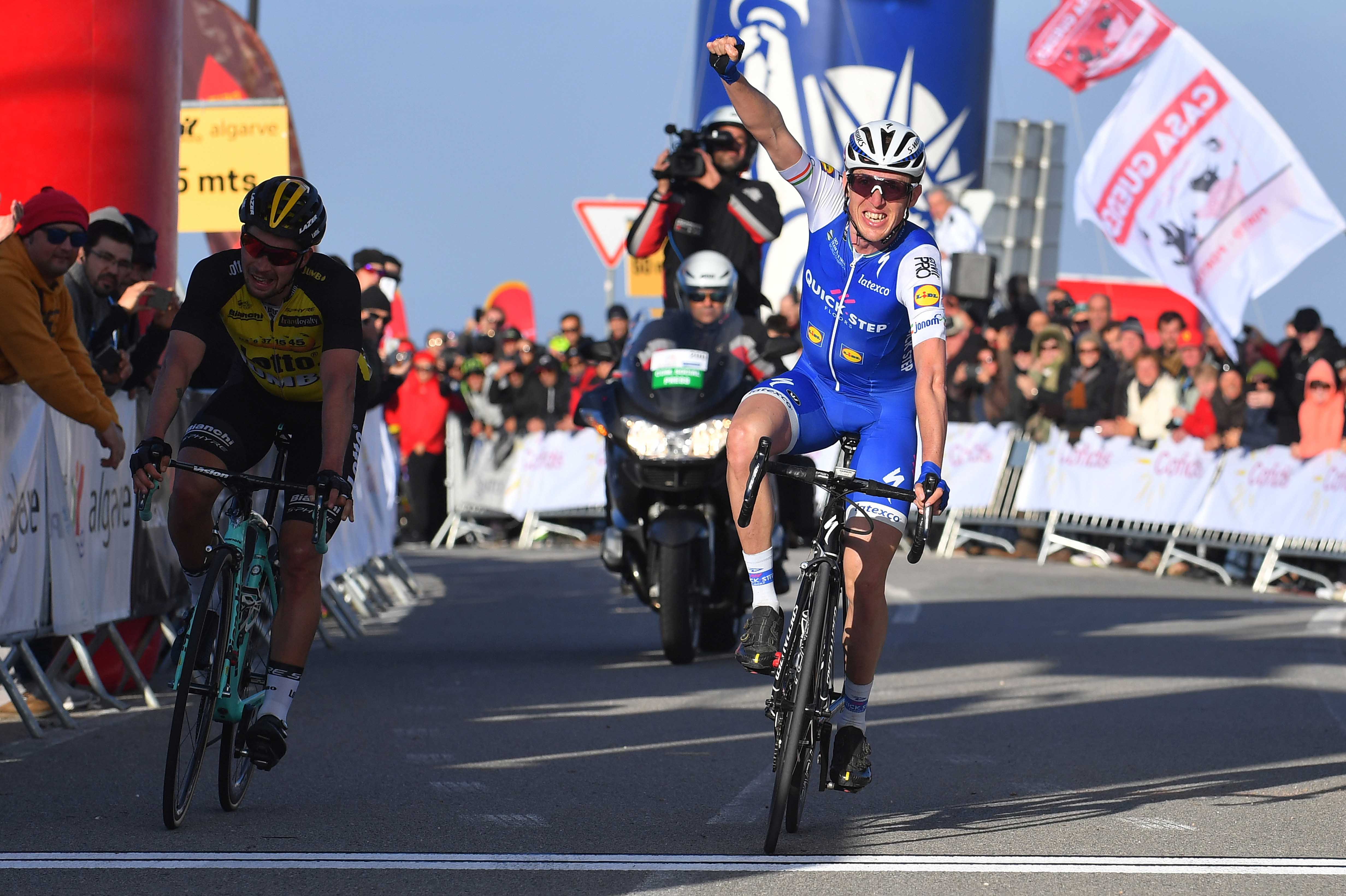 I knew the last climb and that it suited me dan martin for Quick step floors cycling team