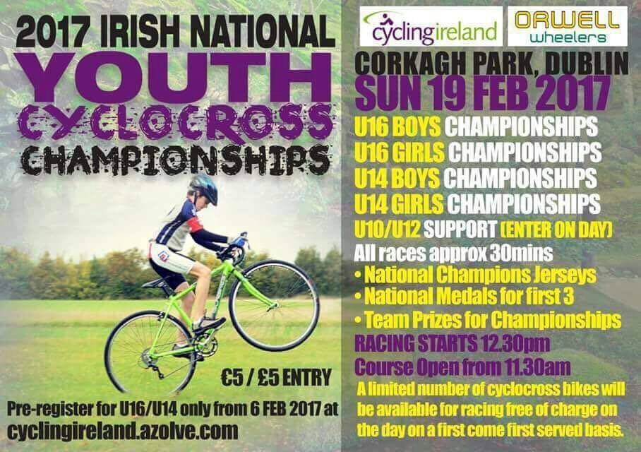 Orwell Wheelers 2017 National Youth CX Champs