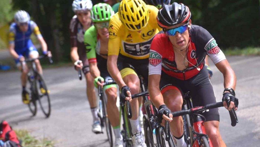 Richie porte suffers fractured clavicle and pelvis in tour for Richie porte tour de france
