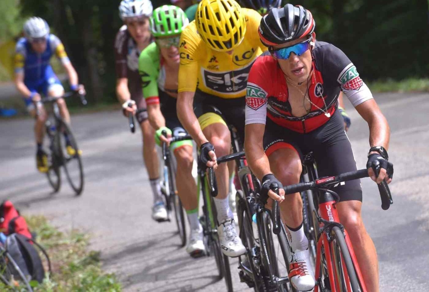 richie porte suffers fractured clavicle and pelvis in tour
