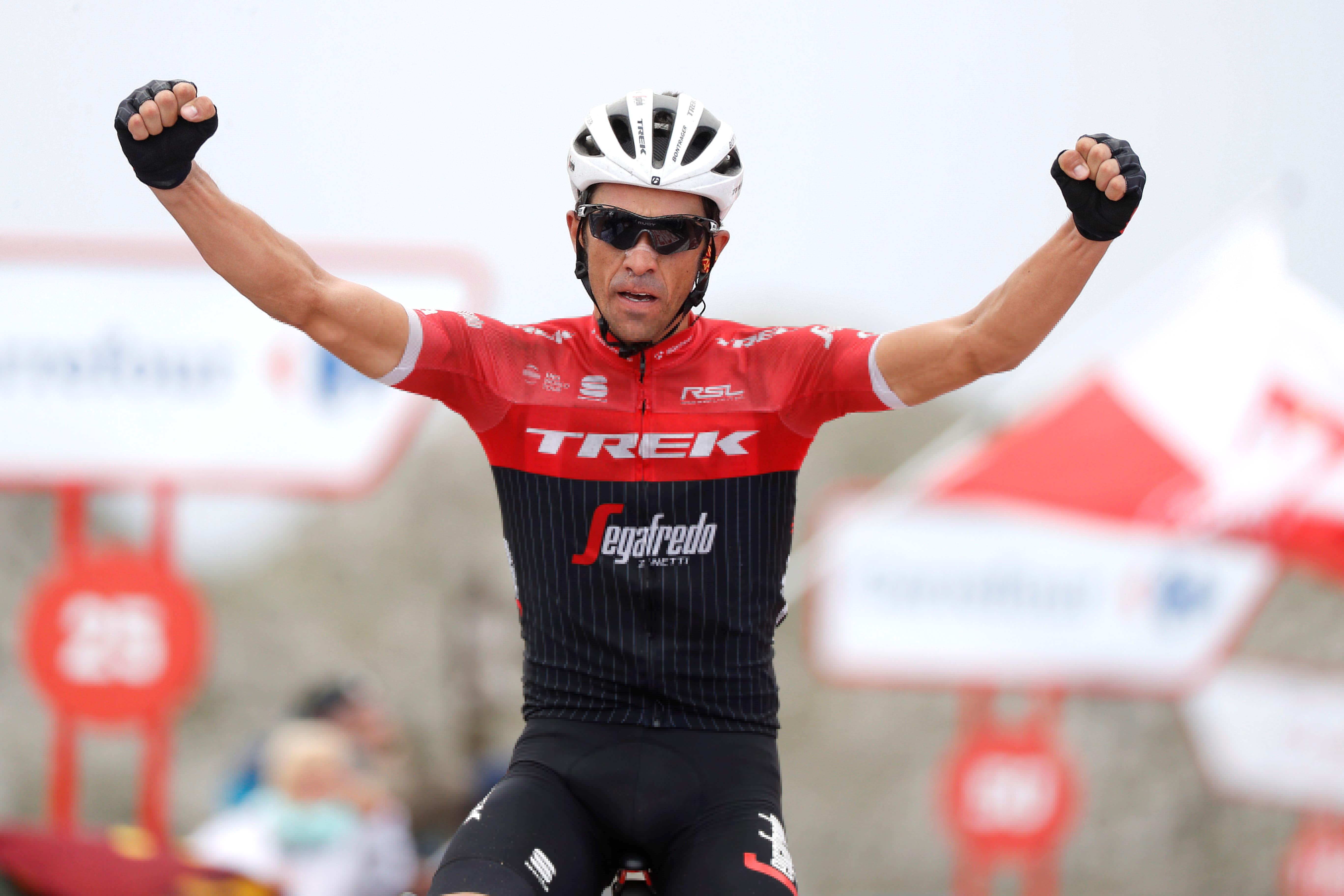 f89db23af Alberto Contador says farewell with win on the Angliru