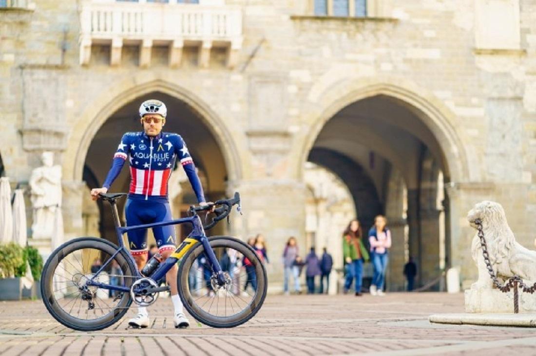 f2343aa86d3 Aqua Blue Sport unveil new 3T Strada bike with SRAM 1x drivetrain system