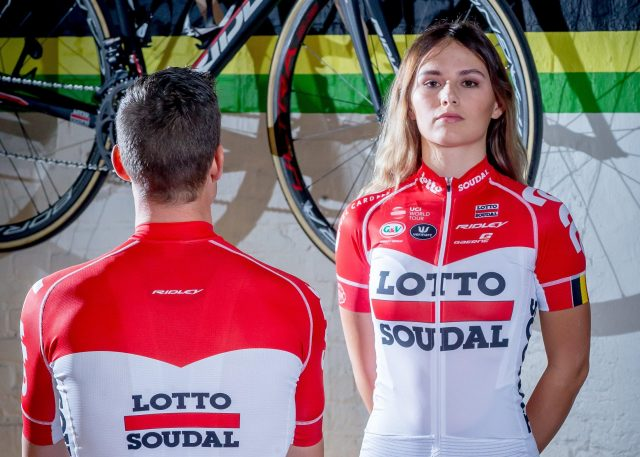Lotto-Soudal unveil 2018 jersey 170857a17