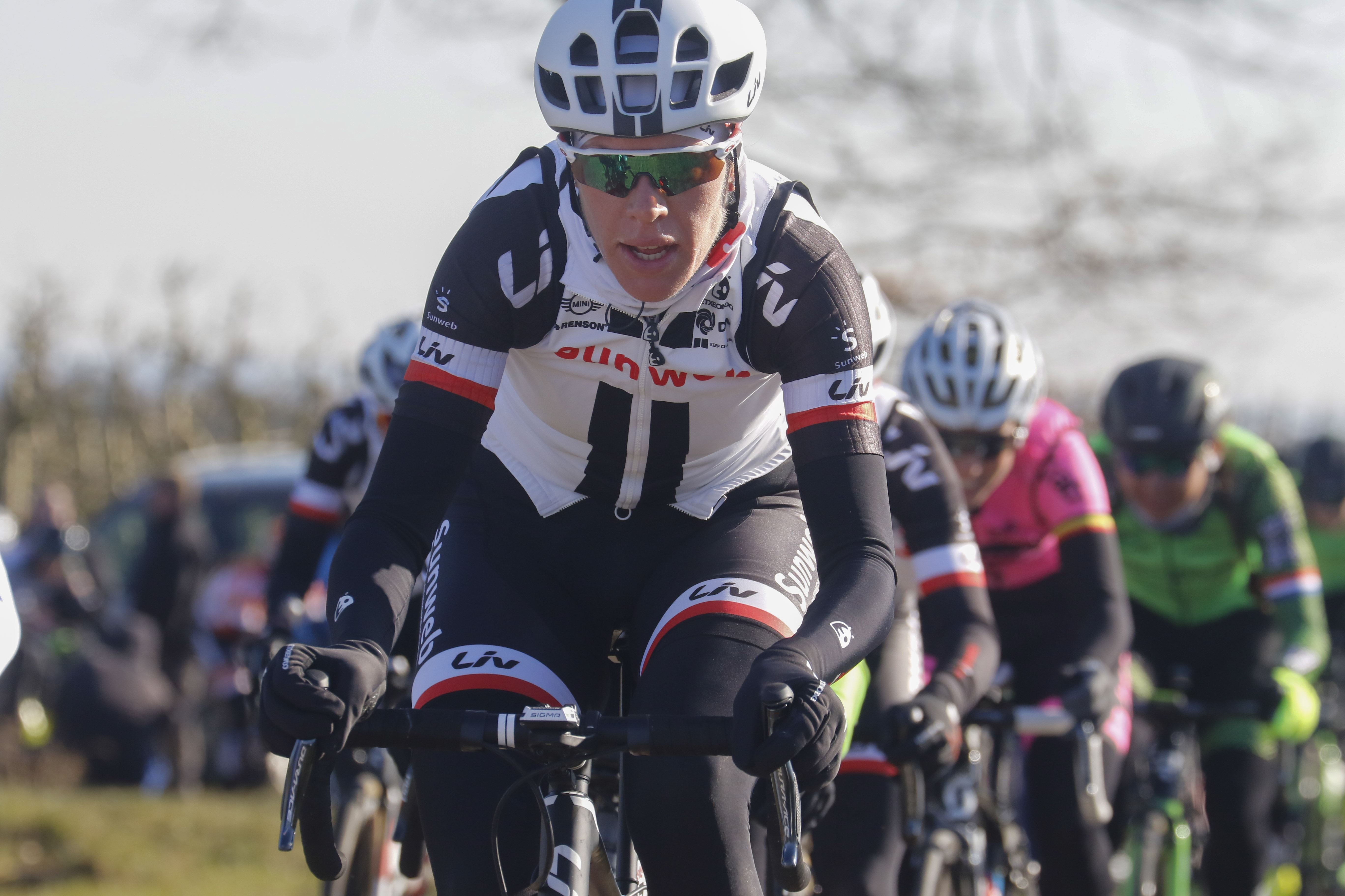 Watch Ellen van Dijk world road and track cycling champion video