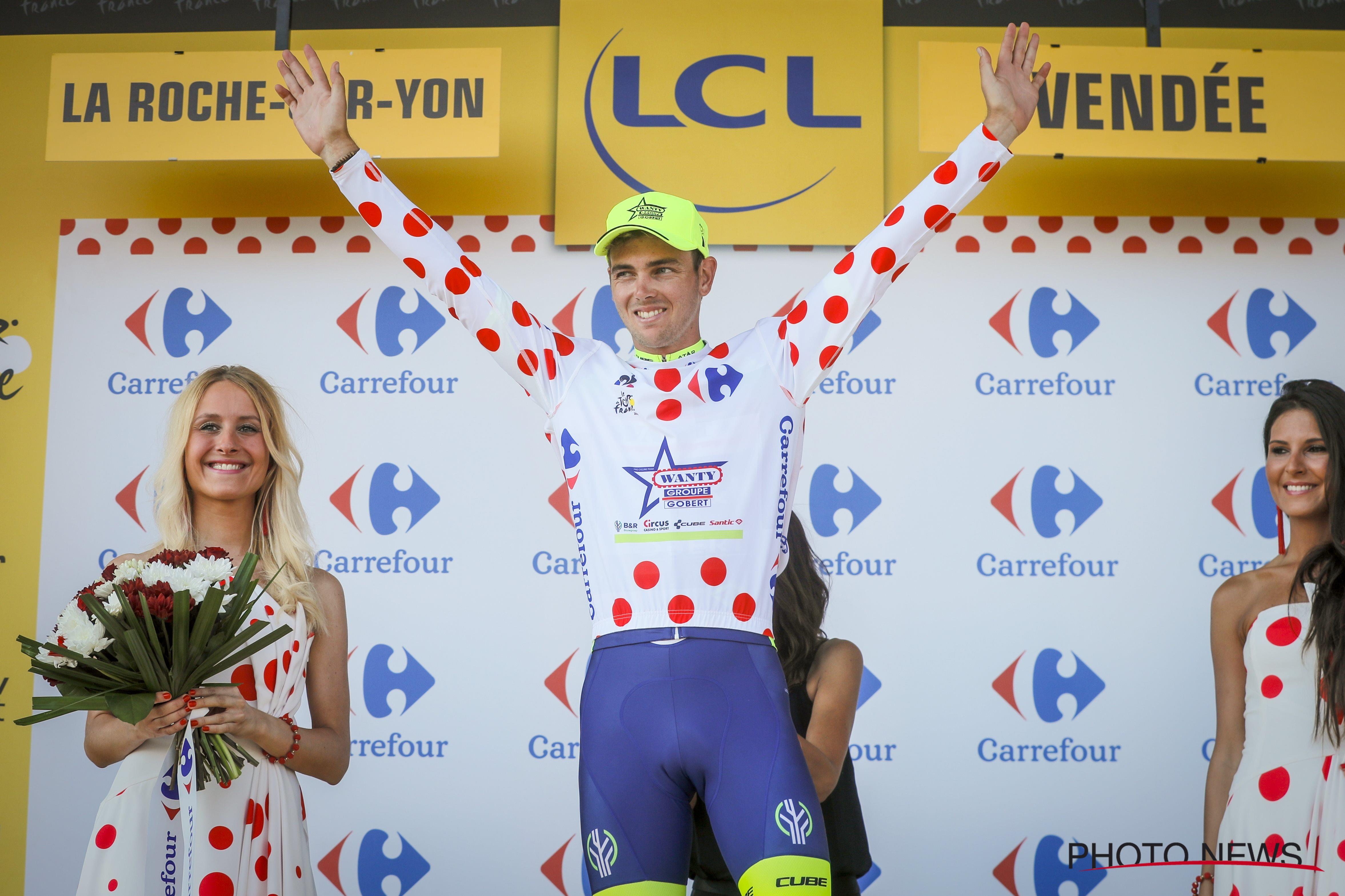 Dion Smith Takes Over Polka Dot Jersey At The Tour De
