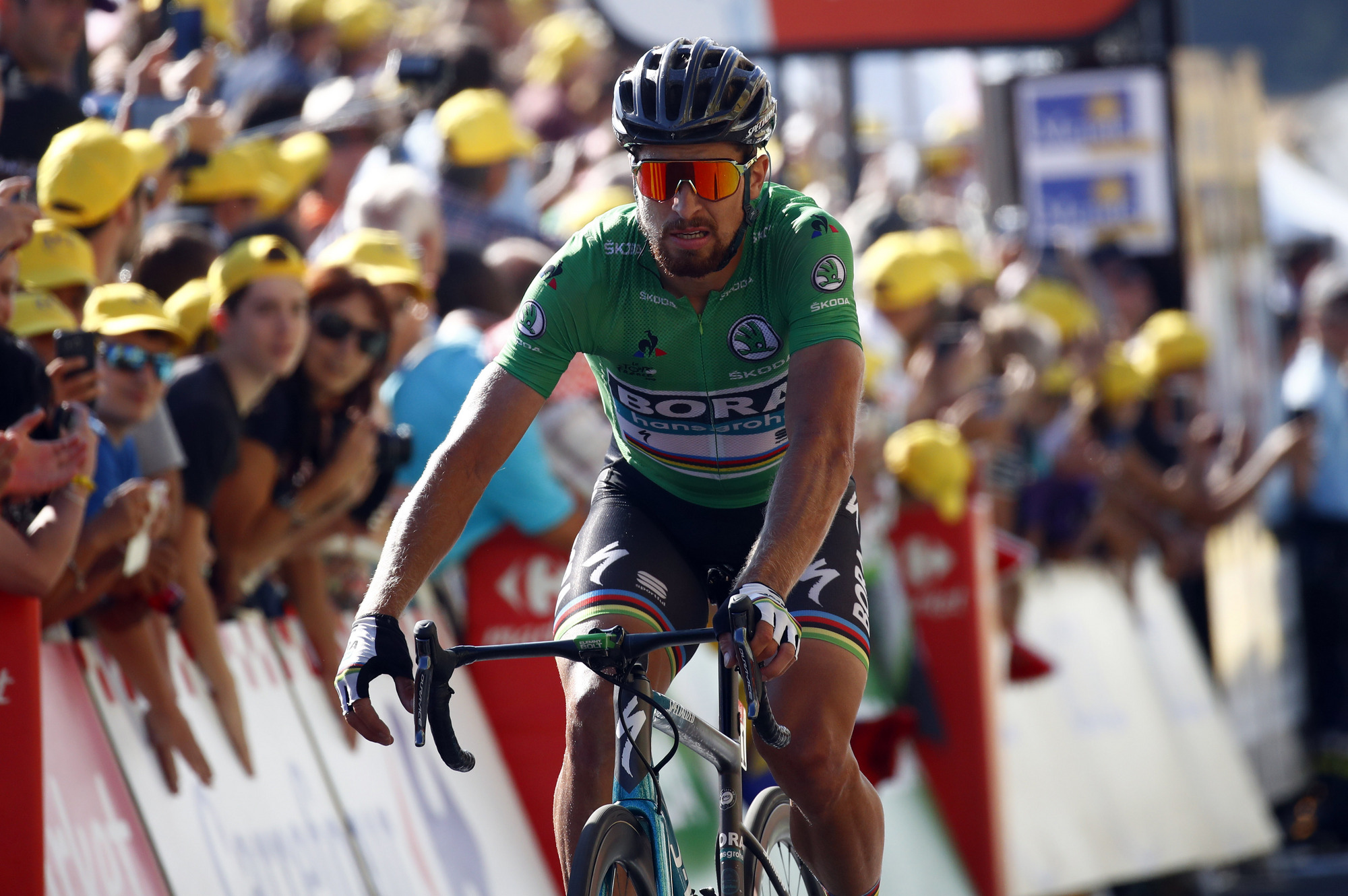 7c2fb9c85e0 Peter Sagan extends lead in points competition after 4th place on Stage 14  of the Tour de France   The Bike Comes First