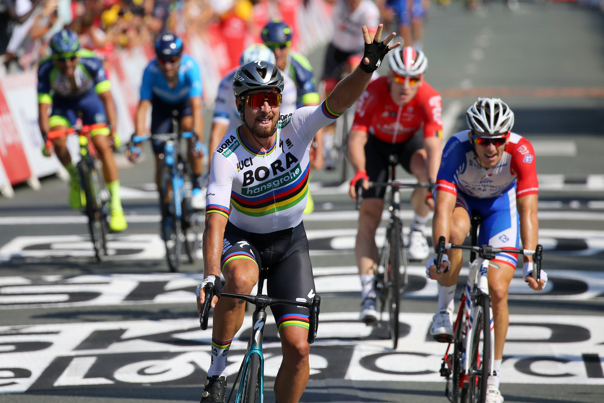 Peter Sagan Takes Over The Yellow Jersey After Winning Stage 2 Of The Tour De France The Bike Comes First