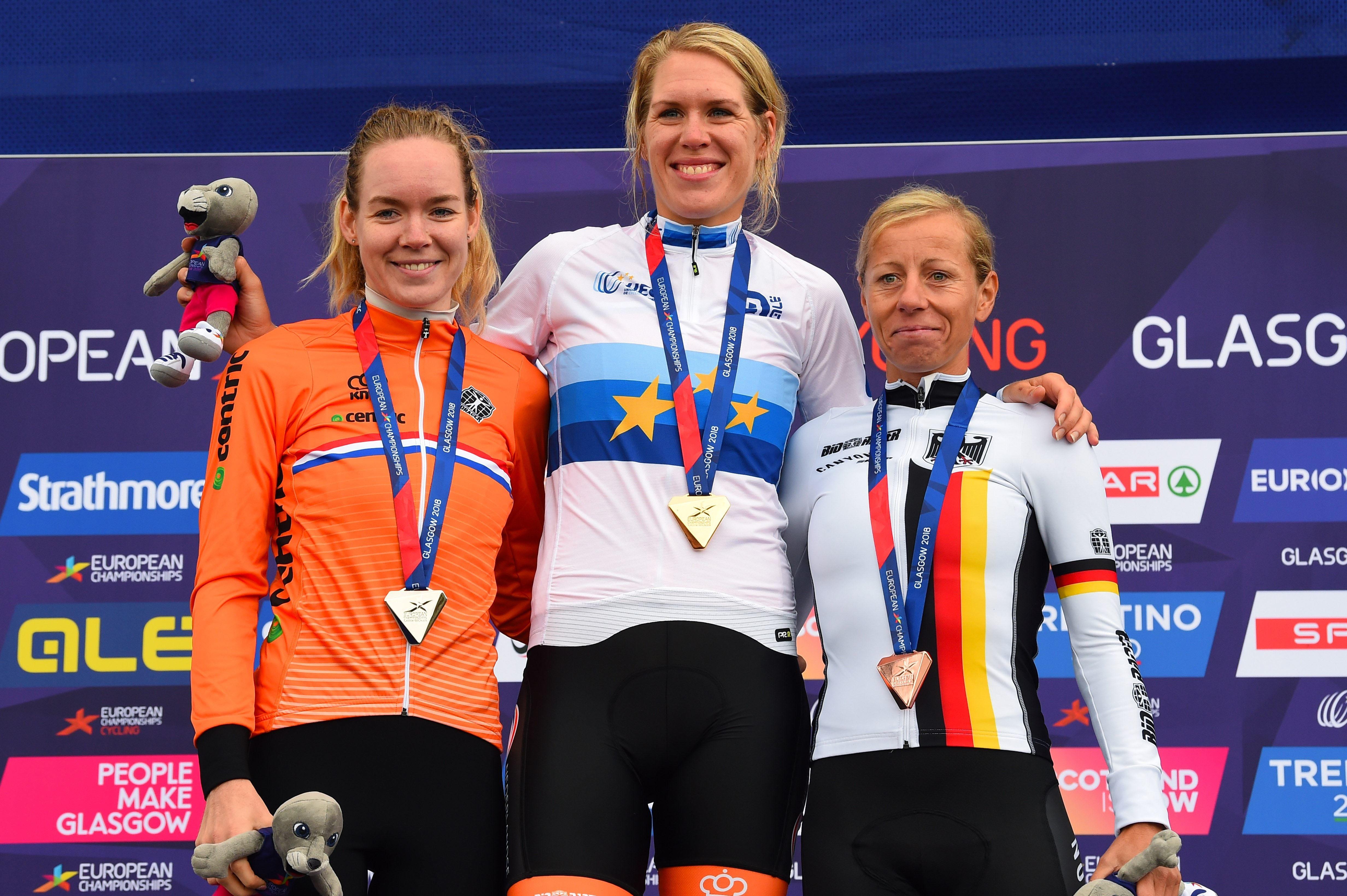 Ellen van Dijk world road and track cycling champion