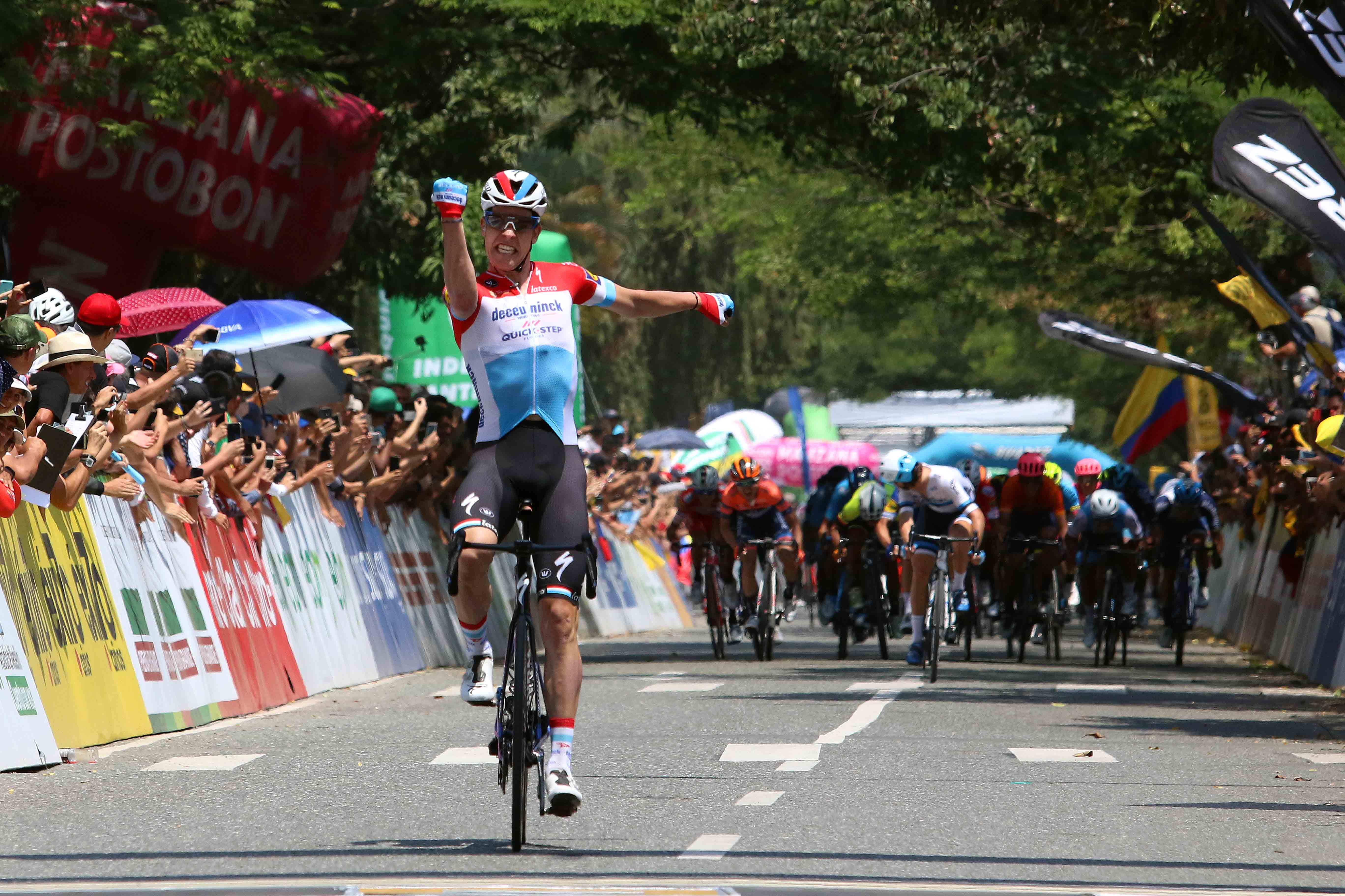 Bob Jungels takes stage win and moves into overall lead at