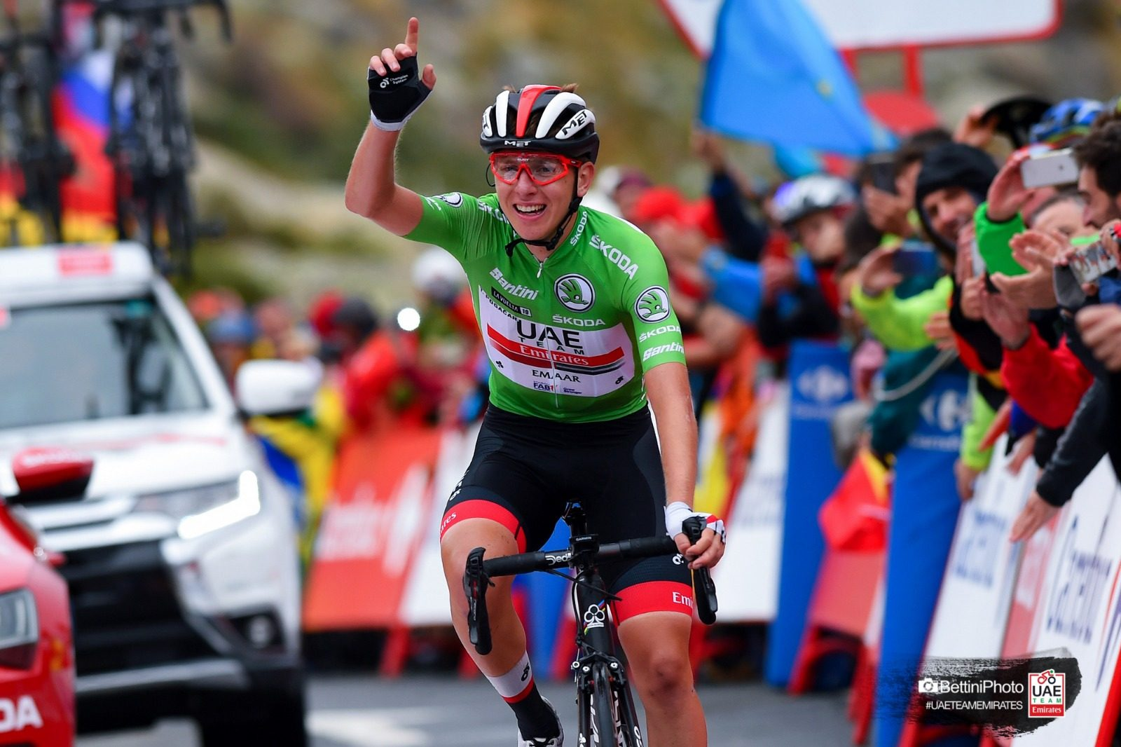 Tadej Pogacar Wins His Third Stage Of The Vuelta A Espana And Moves Up To Third Overall The Bike Comes First